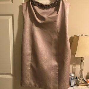 Evening knee length dress